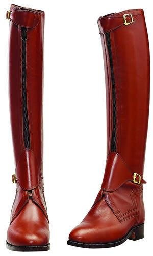 Cuero Hecha a Mano Alto botas De Montar Hombres botas para Equitación botas De Polo