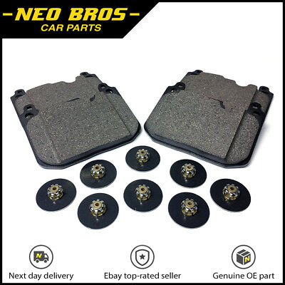 Pads /& Sensor for Mini F55 F56 F57 Cooper S /& SD Genuine Front Brake Kit Discs