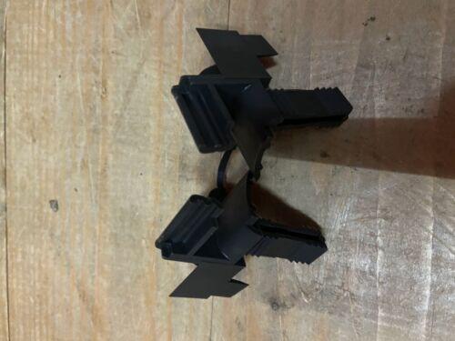 Schiene 53mm x 22mm 1 Paar Rolladen Einlauftrichter Vorbaurollladen Trichter f