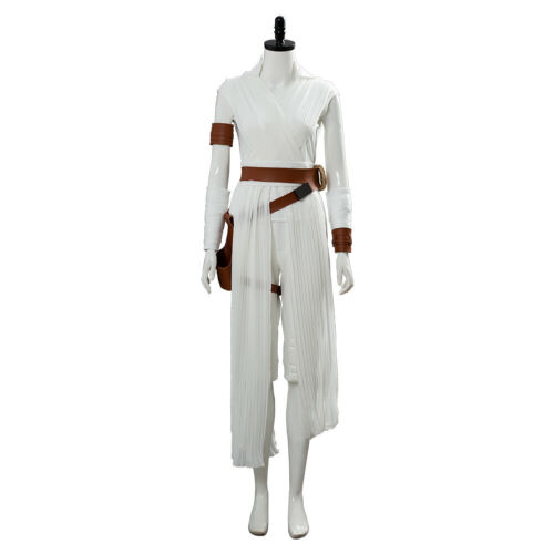 Details about  /Star Wars 9 The Rise of Skywalker Rey Cosplay Costume Female Outfit Full Set