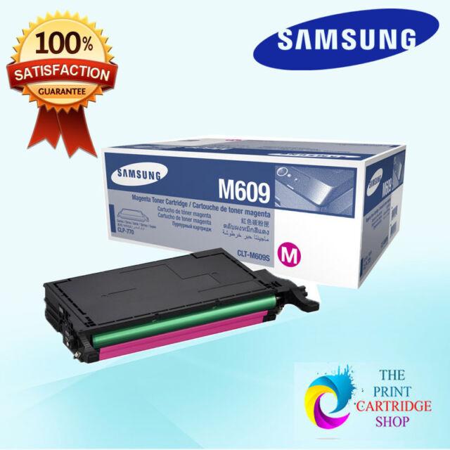 New & Original Samsung CLT-M609S Magenta Toner Cartridge CLP-770ND CLP-775ND 7K