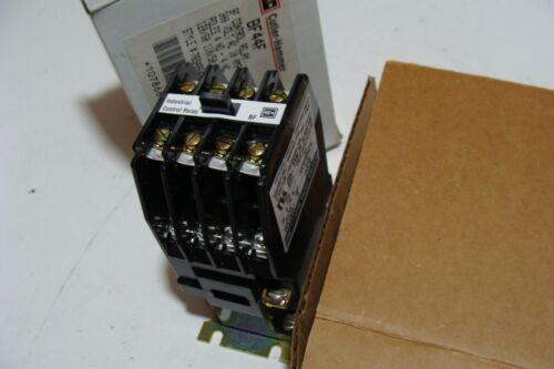 New Cutler Hammer EATON BF44F Control Relay 4 NO 4 NC Poles 765A864G01 300VAC
