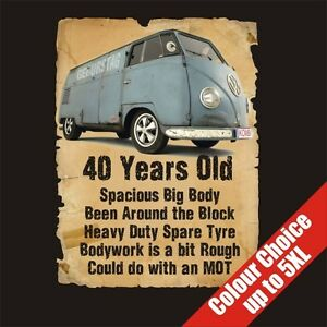 Image Is Loading 40 Year Old Transporter 40th Birthday Gift Dad