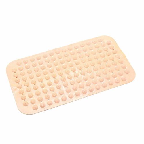 Home Bathroom Non-Slip Bath Tub Shower Mat Anti Skid Suction Cup PVC Ru PJJ