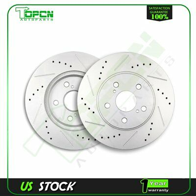 2010 Lexus IS250 Base Rotors Ceramic Pads R Slotted Drilled