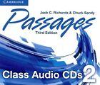 Passages Level 2 Class Audio Cds (3) by Jack C. Richards, Chuck Sandy (CD-Audio, 2014)