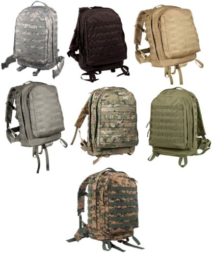 tactical military backpack modular molle 3 day assault pack rothco 40169