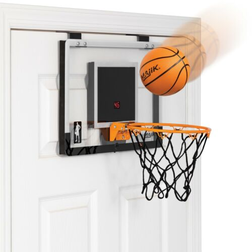 Majik Deluxe Over The Door Basketball Game LED Scoring Ball /& Pump Included