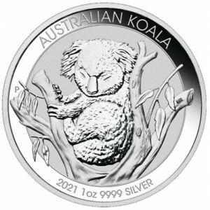AUSTRALIE-1-Dollar-Argent-1-Once-Koala-2021