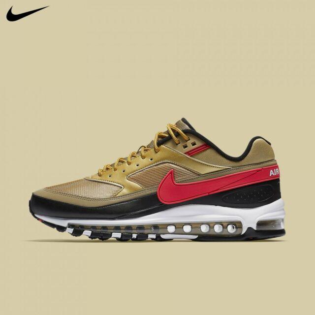 Original Nike Air Max 95 Black Gold 924478 003 Men's Running Shoes