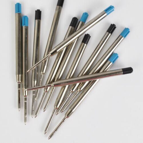 25 to 1 Ballpoint Pen Refills Blue Compatible Inoxcrom Parker Refill UK Seller
