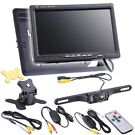 "Yessources 7"" LCD Car Rear View Camera Kit"