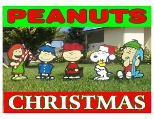 Peanuts Outdoor Christmas Decorations.Details About Peanuts Outdoor Christmas Decorations