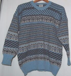 Image is loading Vtg,Scottish,Clan,Royal,Edinburgh,Scotland,Mens,Sweater,