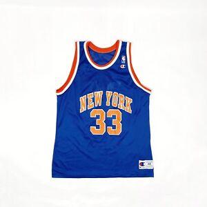 Image is loading Vintage-1990s-Champion-NBA-Knick-s-Jersey 653cc5447