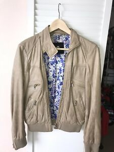 b23dd982e Details about Dolce and Gabanna D&G Authentic Women's Leather Jacket