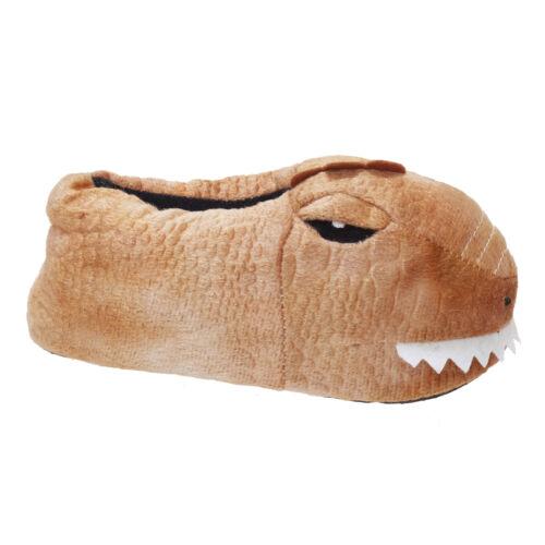 Slumberzzz Childrens//Kids Dinosaur Slippers 160
