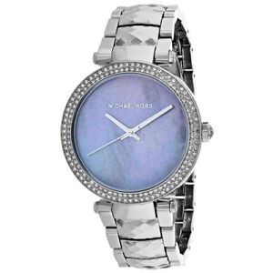 7ee36c9a00f2 Women s Michael Kors Parker Mother of Pearl Steel Watch MK6424 for ...