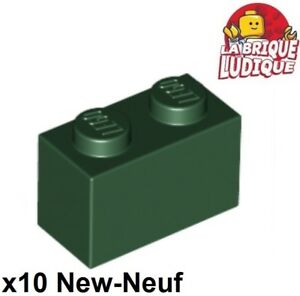Lego 10x Stein 1x2 Dunkel Lila Dark Purple Brick 3004 Neuware New