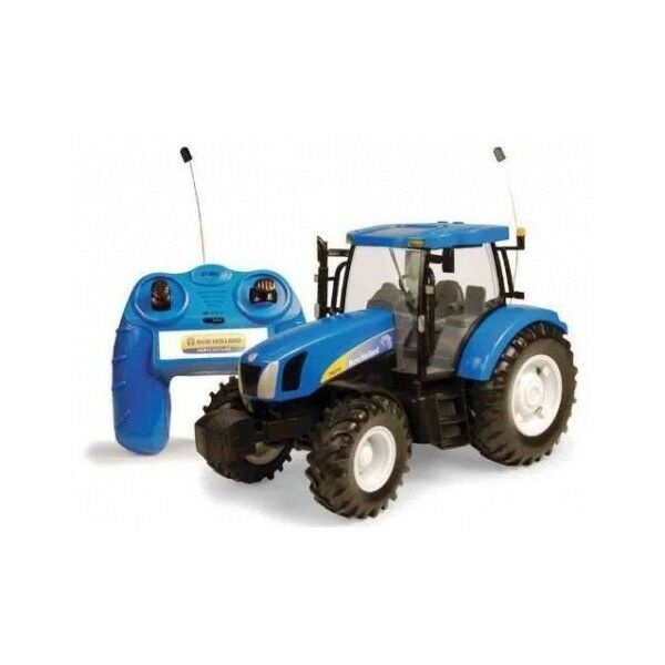 BRITAINS 1:16 RADIO CONTROLLED NEW HOLLAND T6.070 TRACTOR TRATTORE  ART 426011