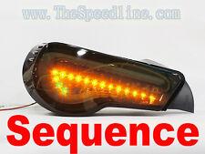 VALENTI 12+ SUBARU BRZ SCION FR-S SEQUENCE SIGNALS LED TAIL LIGHT LAMP FRS SMOKE