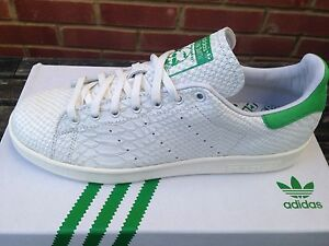 ADIDAS CONSORTIUM STAN SMITH rettile UK 11 US 11.5 EU 46 LTD EDT FIEG FR
