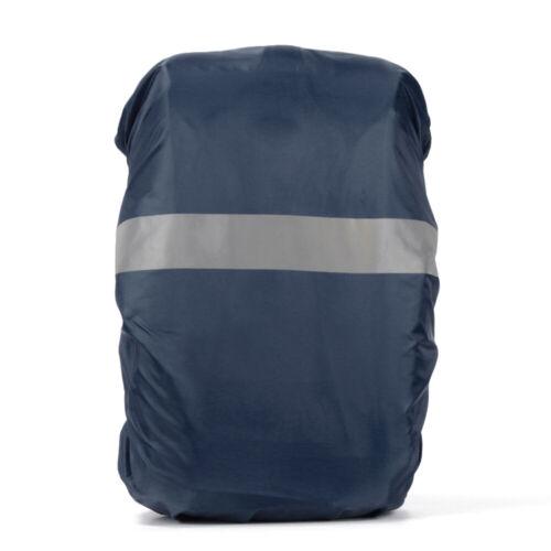 20//35L Rain Cover Backpack Reflective Waterproof Bag Camo Tactical Outdoor UK`
