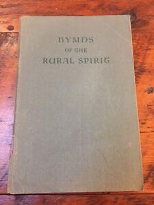 Vtg-1947-Rural-Spirit-Hymnal-Softcover-Churches-of-Christ-Christian-Gospel-Songs