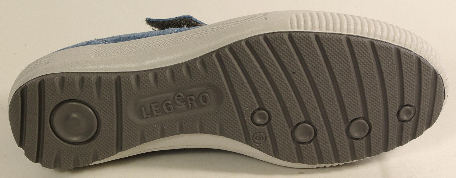 Legero zapatos bailarinas Mary Jane mocasines cuero auténtico azul cambio cambio cambio plantilla nuevo ef1a4c