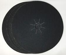 10pk Of 50 Grit Sandpaper Floor Sanding Discs 17 Floor Buffer With 2 Arbor