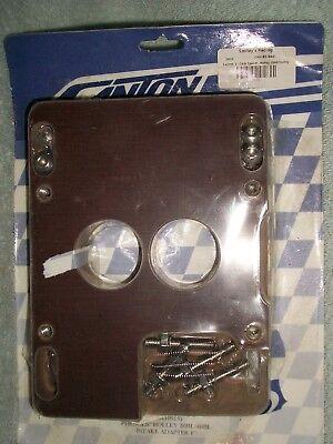Canton Racing Products Phenolic 2bbl Adaptor
