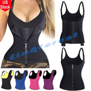 09ea2719f0a Womens Sweat Sauna Body Shaper Slimming Vest Thermo Neoprene Waist ...