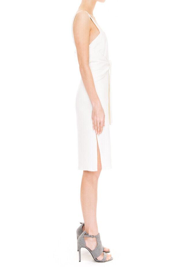 Keepsake Womens Long Division KX150962D Dress Skinny White Size S