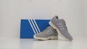brand new ba99e 55561 La foto se está cargando Adidas-ZX-Flux-claro-Onix-Gris-Blanco-S31517-