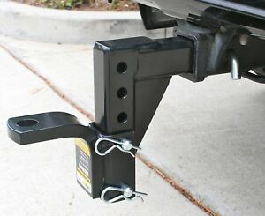 Adjustable Hitch Receiver >> Details About Adjustable Hitch Tow Ball Mount Receiver Carry Towing Truck Car Inch Drop Reese