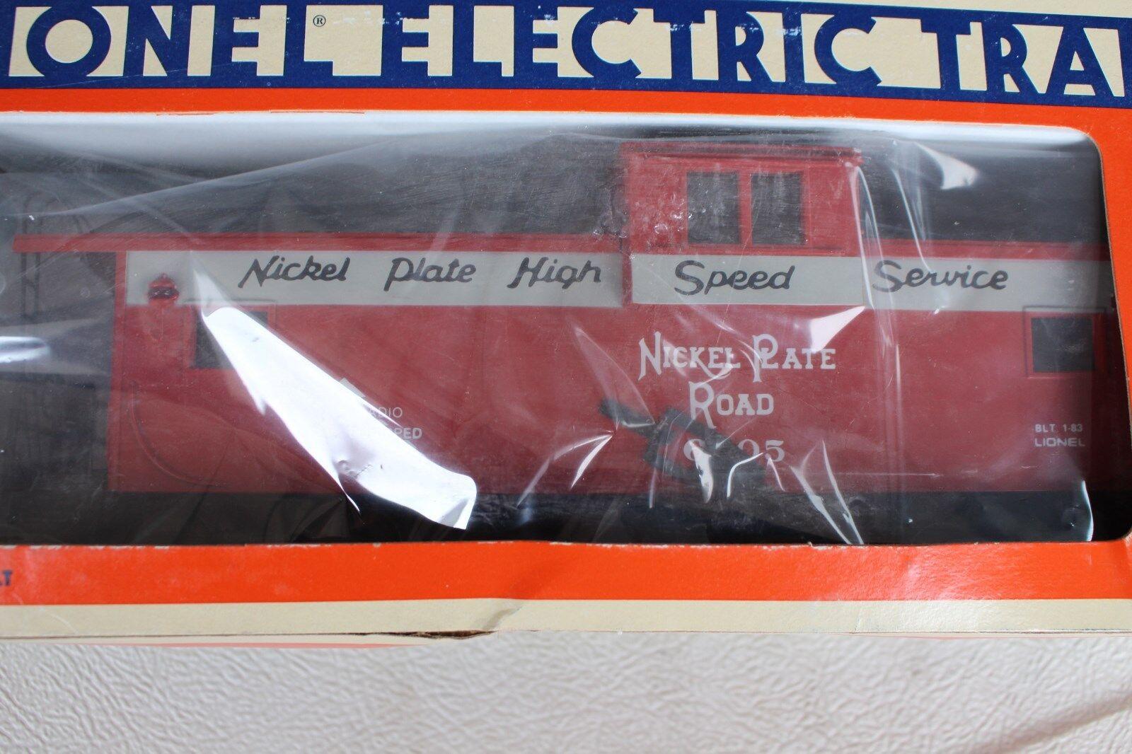 1983 Lionel 6-6905 placa de níquel de visión extendida Road furgón de cola L2816