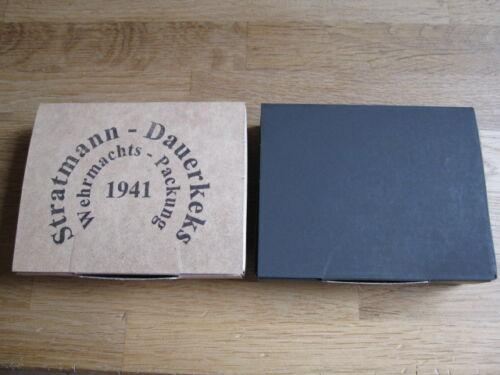 Wehrmacht BISCOTTO confezione pocketfiller Stratmann durata BISCOTTO 1941 WX wk2 WWII