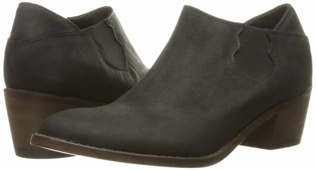 946c0fcb768 1883 by Wolverine Women's Alice Black Leather Slip-on Shoe Ankle BOOTIES 7.5