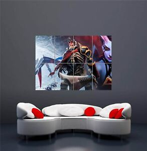 Xbox One Ps3 Ps4 Pc Game Dota 2 New Giant Wall Art Print Picture