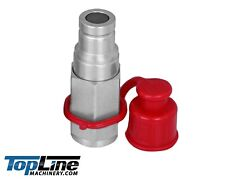Tl41 M 38 Npt Thread 38 Body Flat Face Male Hydraulic Quick Connect Coupler
