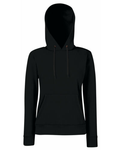 Fruit of the Loom Classic Lady Fit Hoodie LADIES HOODED SWEATSHIRT Front Pouch