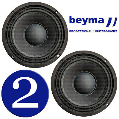 "Beyma 6CMV2 6.5"" Midrange Midbass Car Speaker 220 Watt RMS 8 ohm, PAIR (2 pcs)"