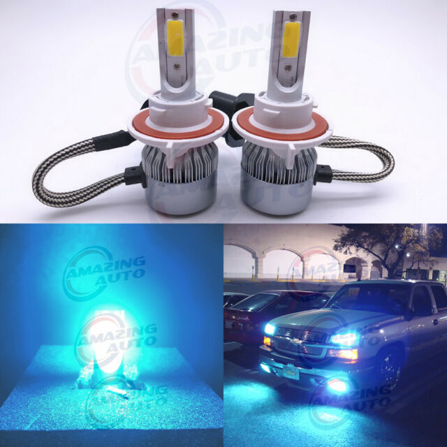 Ice Blue 9005+H11 LED Headlight Kit 144W 32000LM Light Bulbs High/&Low Beam Combo