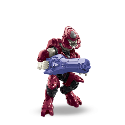 MEGA BLOKS Halo Blind Bag Series Charlie - Red Storm Elite A06 CNC84 Sealed!