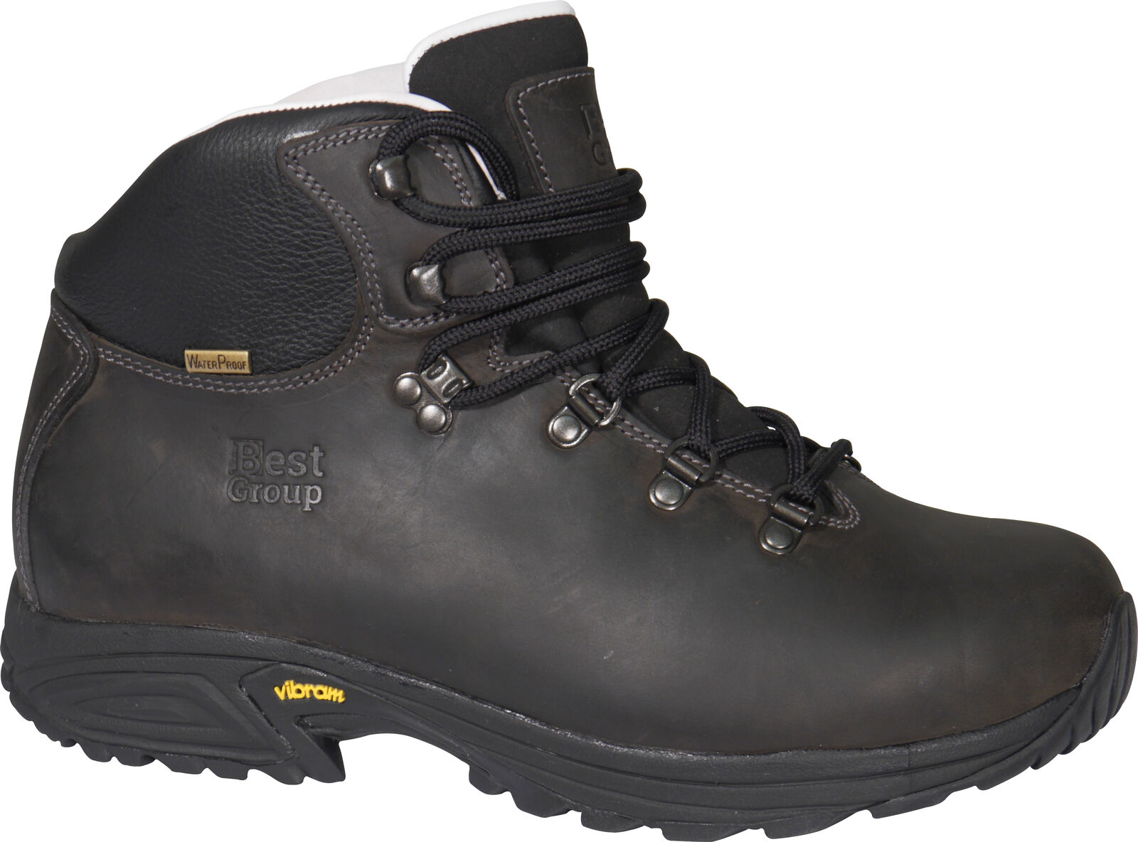 Best Group Storm Leather Waterproof Walking Hiking Boots Mens Womens