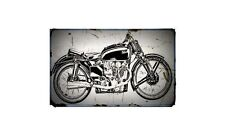 1939 ktt Bike Motorcycle A4 Photo Poster
