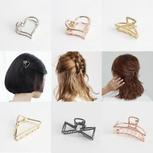 5x Style Women Hair Clips Claw Barrette Crab Clamp Hairpins chic