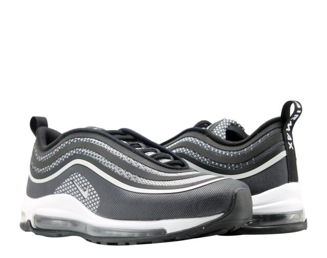 4c4070b5e40d Nike Air Max 97 Ultra  17 Black Pure Platinum Men s Running Shoes 918356-