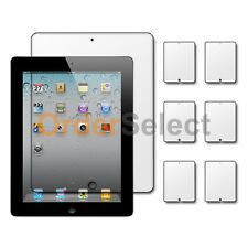 6x Ultra Clear HD LCD Screen Protector for Tab Tablet Apple iPad 2 2nd Gen