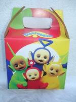 Teletubbies Party Supplies Favor Boxes Bags Treats Loot X6 Decoration La La Kids